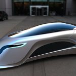 Car of the Future Looks Like a Supersonic Road Rocket