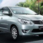 Toyota Innova Facelifted