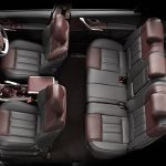 Seating capacity with comfortable space