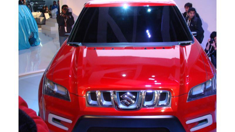 Maruti Suzuki at New Delhi Auto Expo 2012
