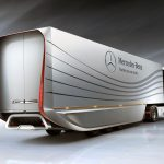 Mercedes Unveils An Aerodynamic New Semi-Trailer