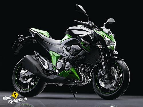 2013 Kawasaki Z800 leaks from Thailand