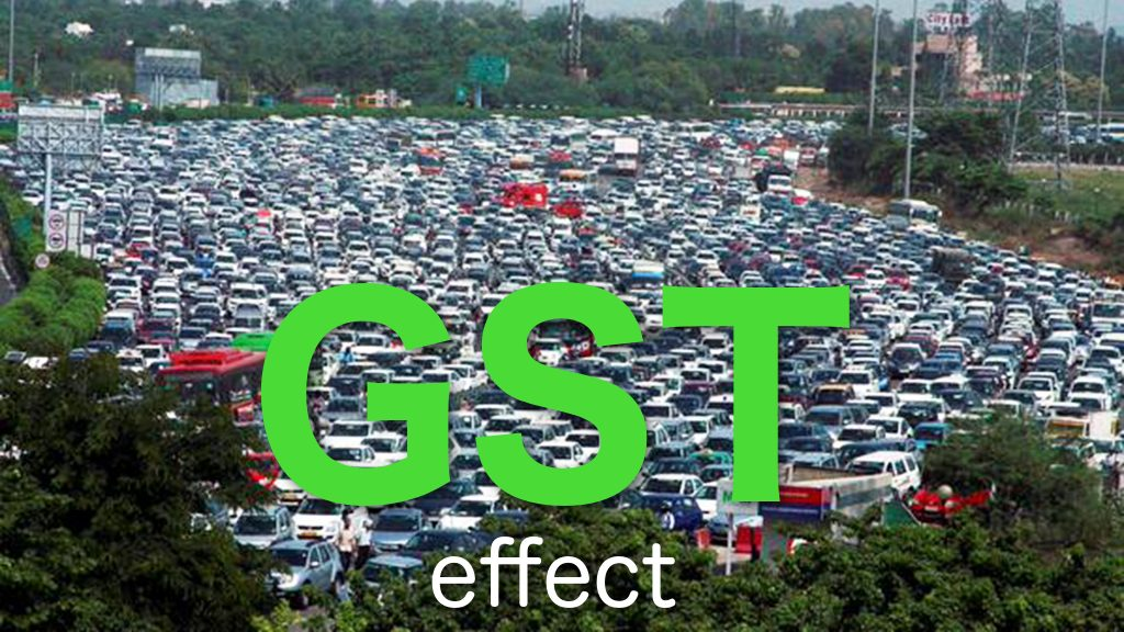 GST effect on Indian Automobile Industry