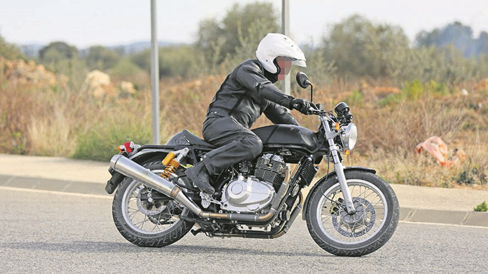 Royal Enfield - 750cc Motorcycle Testing