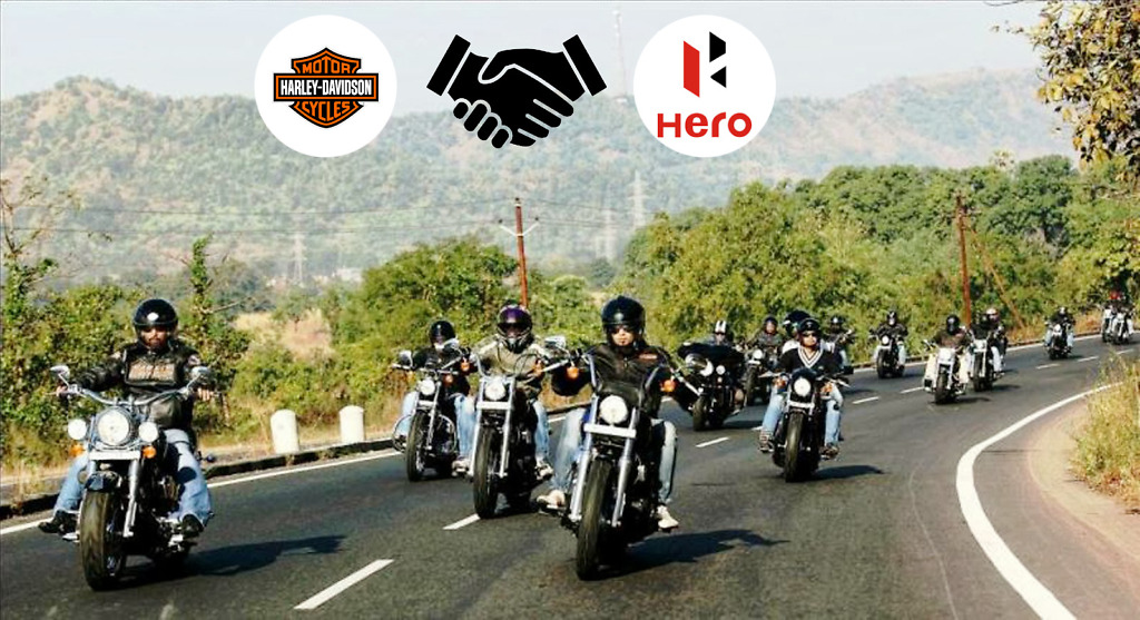 Harley Davidson Owners Protest Rally