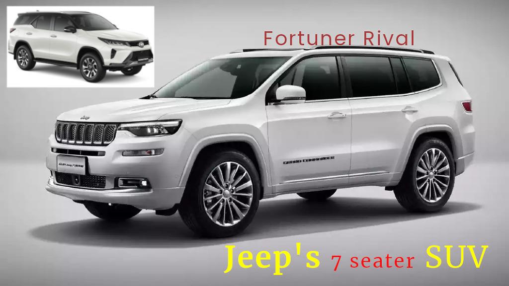Jeep D-segment 7 seater SUV