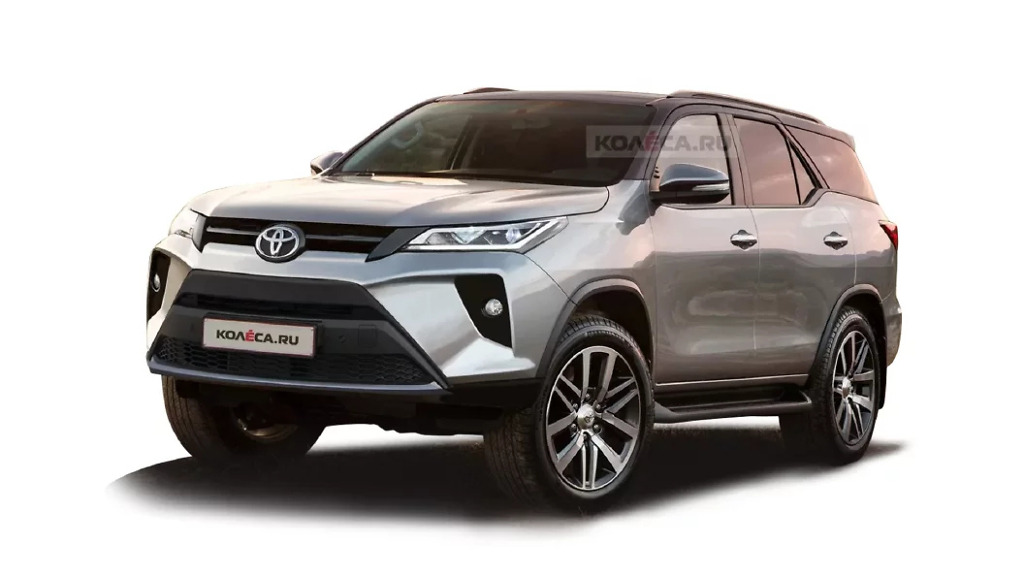 New Toyota Fortuner 2021