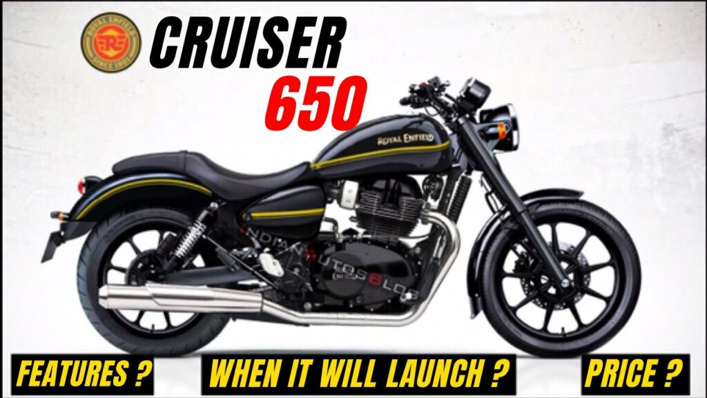 2021 Royal Enfield KX650 cruiser features and design