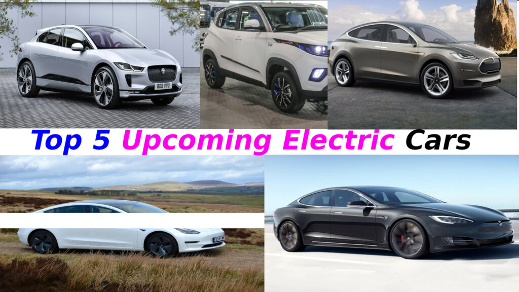 Top 5 Upcoming electric cars in India 2021