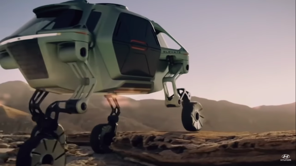 Hyundai Tiger X1 UMV: ROLL, RUN, FLY | Ultimate Mobility Vehicle