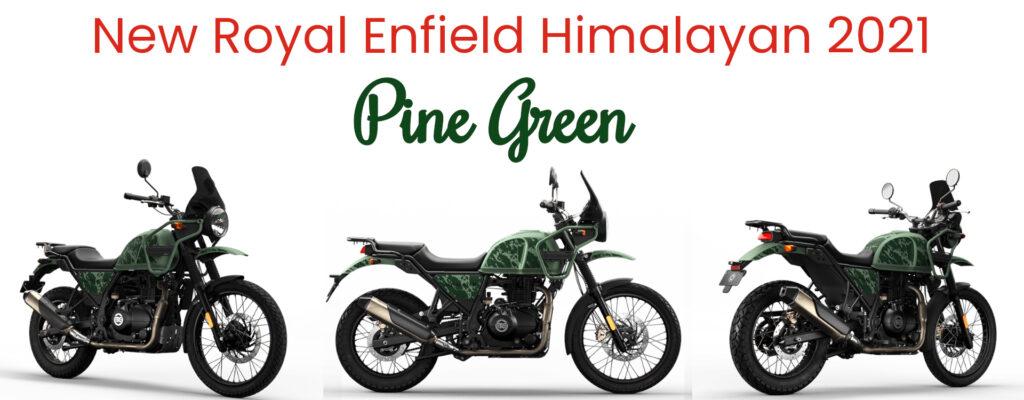 New Royal Enfield Himalayan 2021 - Pine Green Color