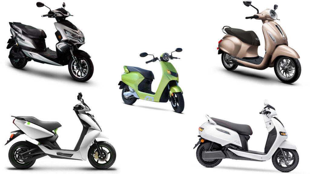 Top 5 Electric Scooters in India