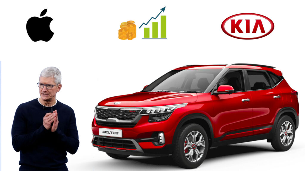 Kia Motors shares jump after report Apple to invest $3.6 billion