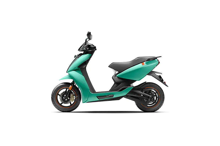 Electric Scooter Ather 450X 2021 Colour Mint Green