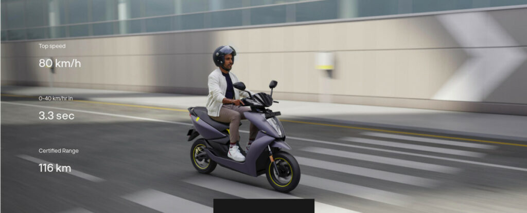 Ather 450X 2021: 4G, Touch Screen, more