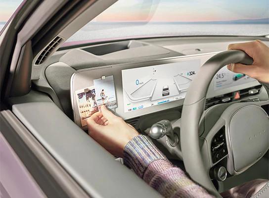 ioniq5 world premiere magnetic-dashboard