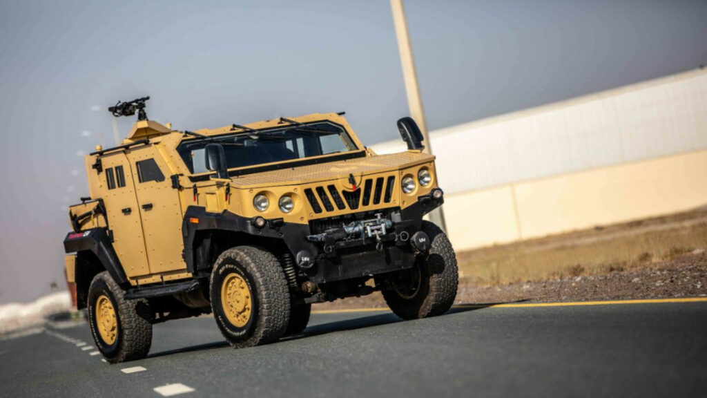 1,300 Light specialist vehicles made by Mahindra defense Ltd.
