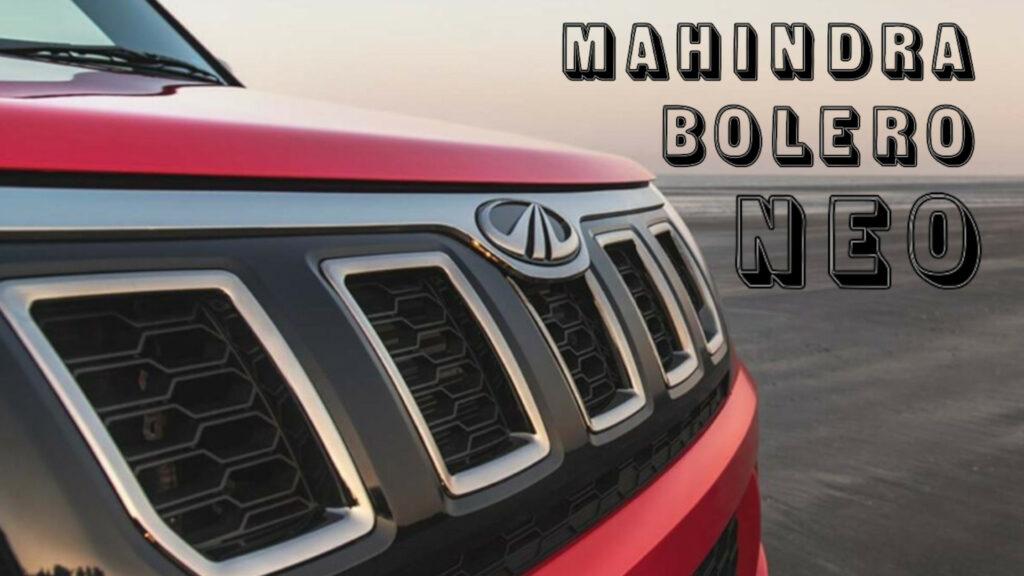 2021 Mahindra Bolero Neo Coming Soon