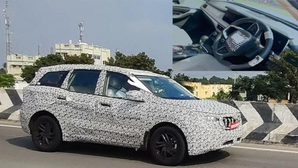 2021 Mahindra XUV500 का इंटीरियर आया सामने, स्पाई फोटो में रिवील हुआ इसका शानदार लुक