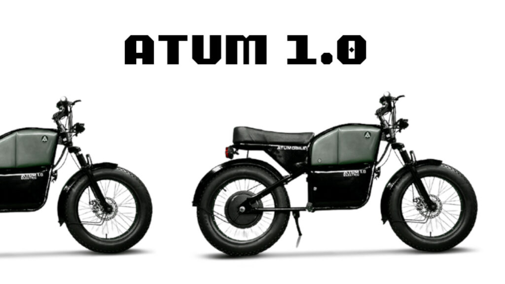 Automobile Atum1.0 - Hyderabad based electric motorcycle