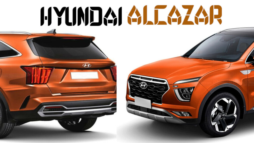 Hyundai Alcazar   6 & 7 Seater SUV - XUV500 & Safari Rival