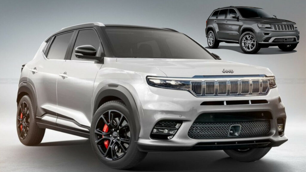 Jeep Junior Compact SUV with AWD and FCA's X6H platform