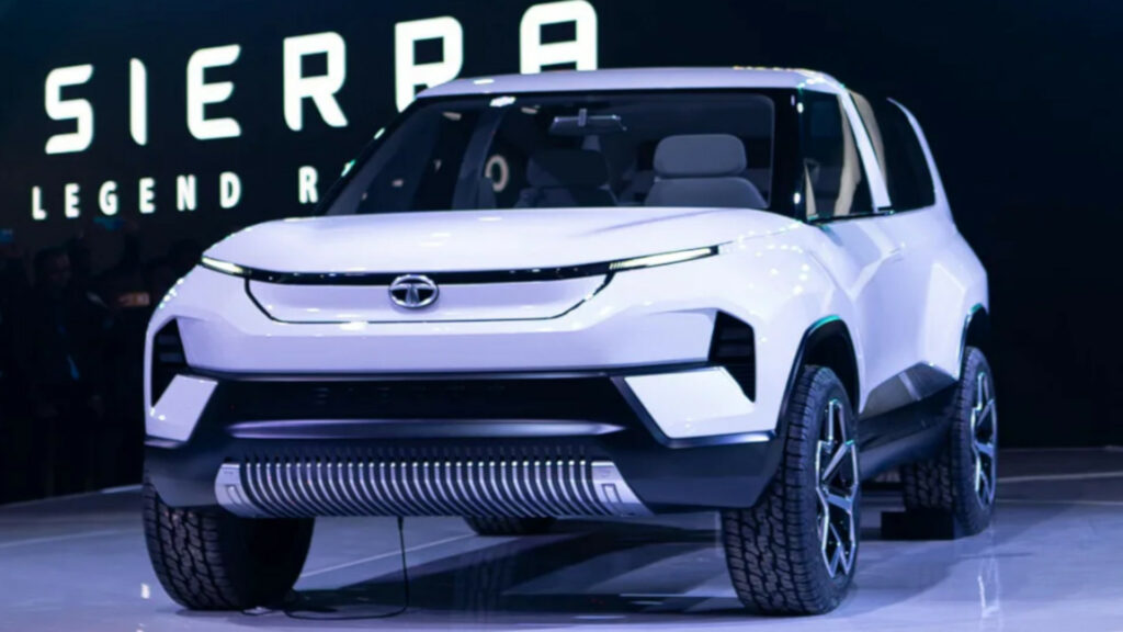 Tata Sierra EV- Price, Launch Date 2021, Features, News