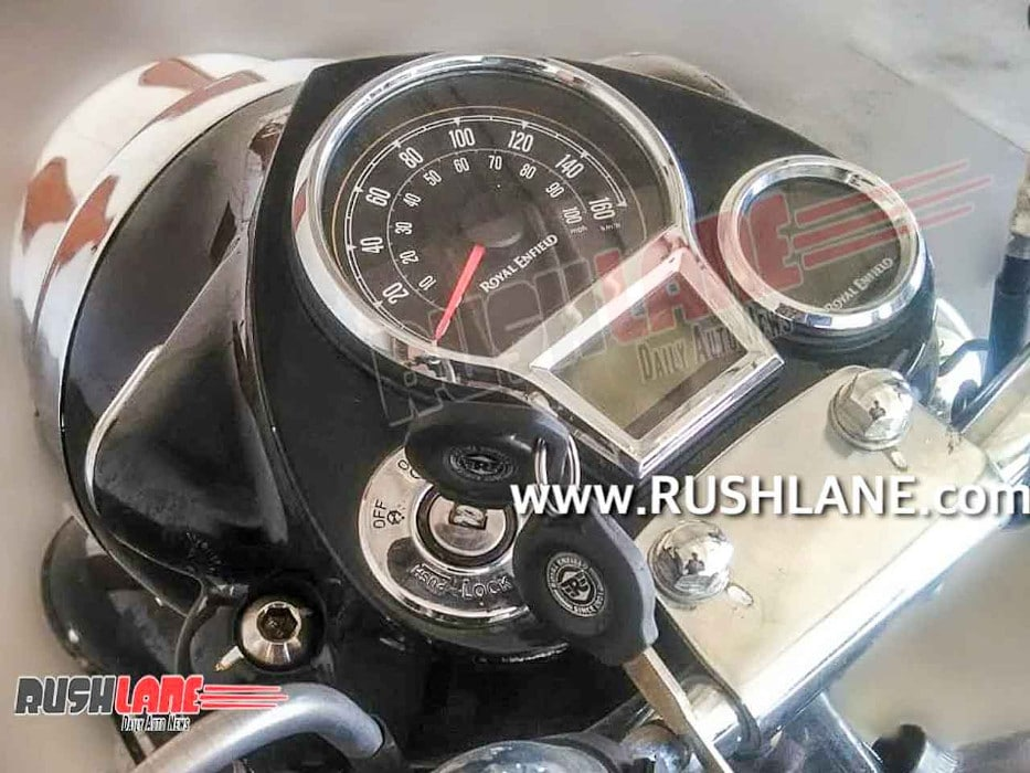 2021 Royal Enfield Classic instrument cluster