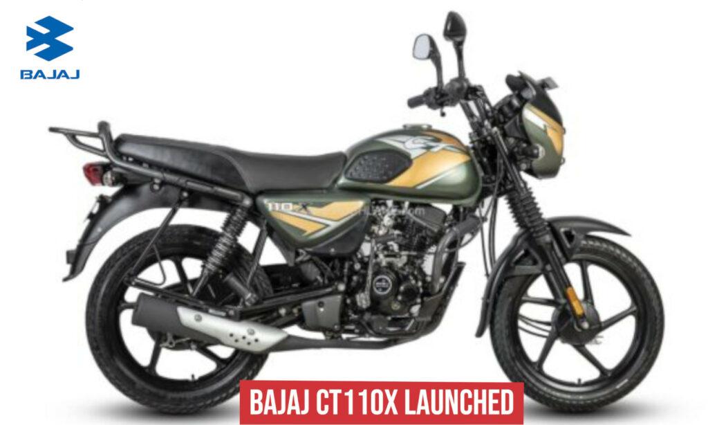 Bajaj CT 110X भारत में 55,494 रुपये में हुई लॉन्च, सॉलिड डिजाइन और धांसू फीचर्स