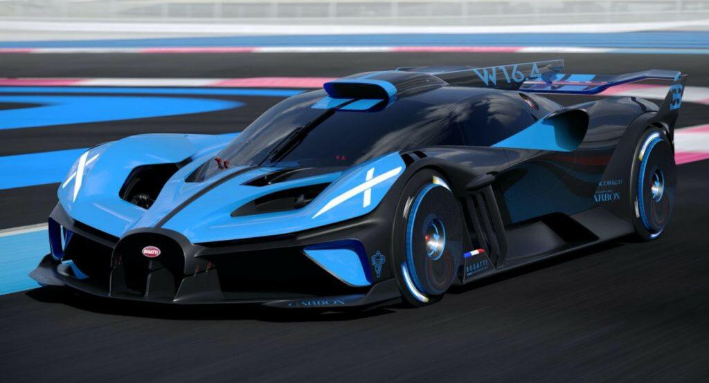 Bugatti Bolide - 310+ mph (484+ km/h)