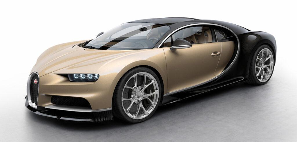Bugatti Chiron - 261 mph (420 km/h)