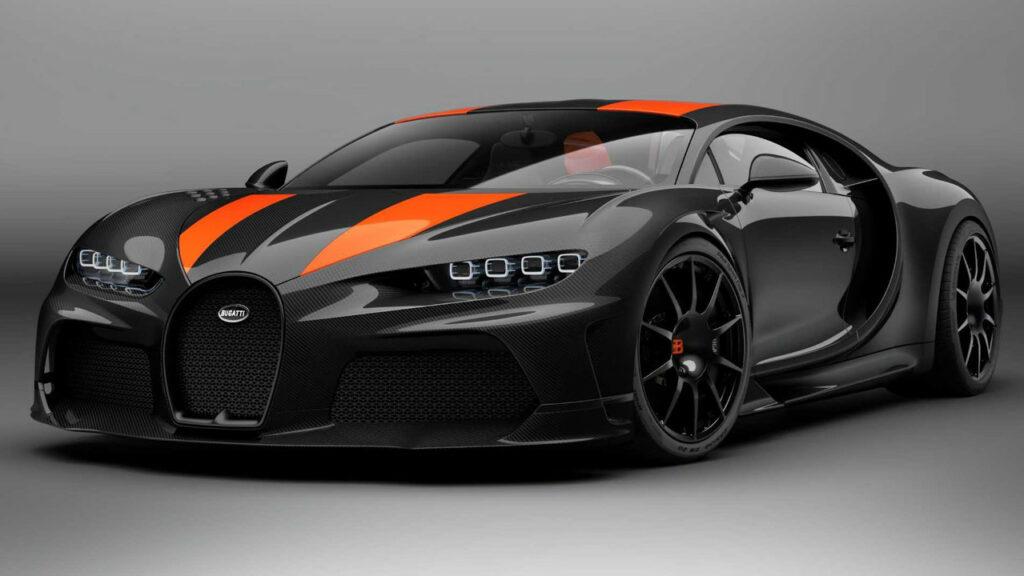 Bugatti Chiron Super Sport 300+ - 304 mph (483 km/h)