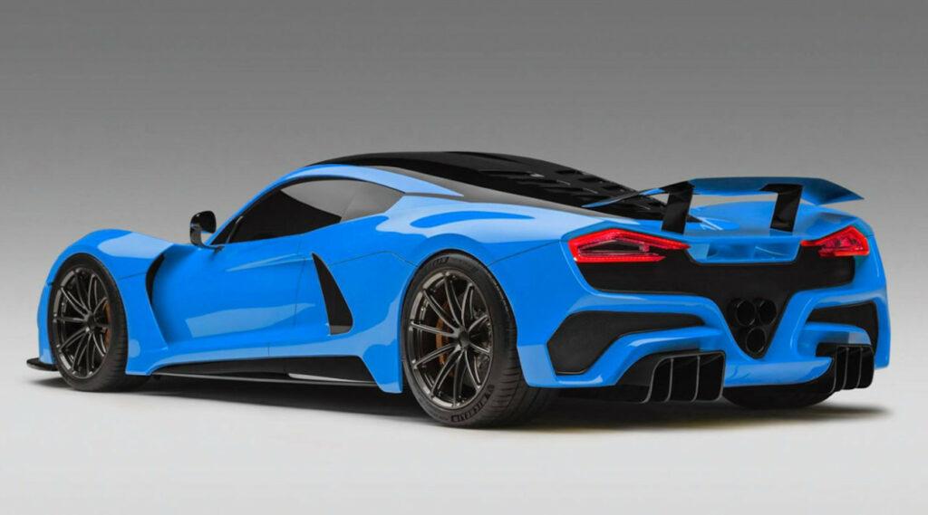 Hennessey Venom GT - 270 mph (434 km/h)
