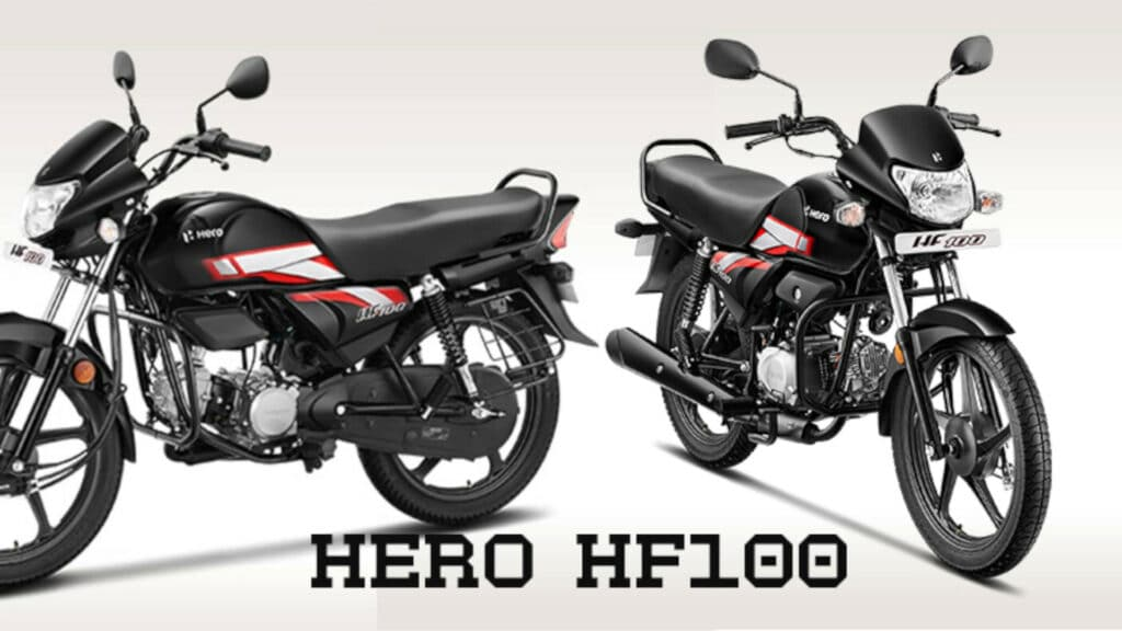 Hero HF100 - Most affordable Hero motorcycle launched at Rs 49,400