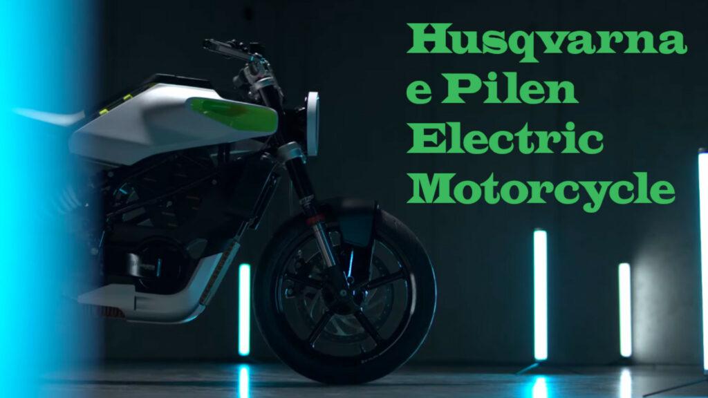 Husqvarna e Pilen Electric Bike concept revealed