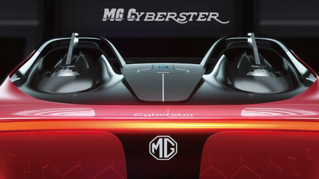 MG ने दिखाई अपनी नई ईवी MG Cyberster की पहली झलक, 5G कनेक्शन के साथ आएगी कार सिंगल चार्ज पर चलेगी 800km!