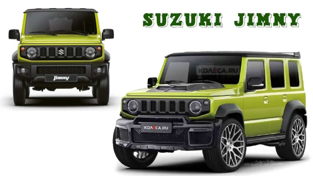 Suzuki 5 door Jimny SUV - engine, transmission, dimension revealed