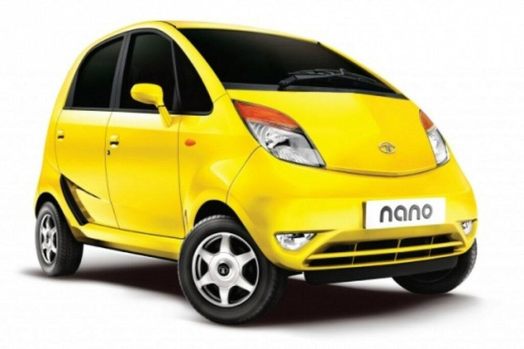 Tata Nano - One of the smallest car (Image Source: newatlas)