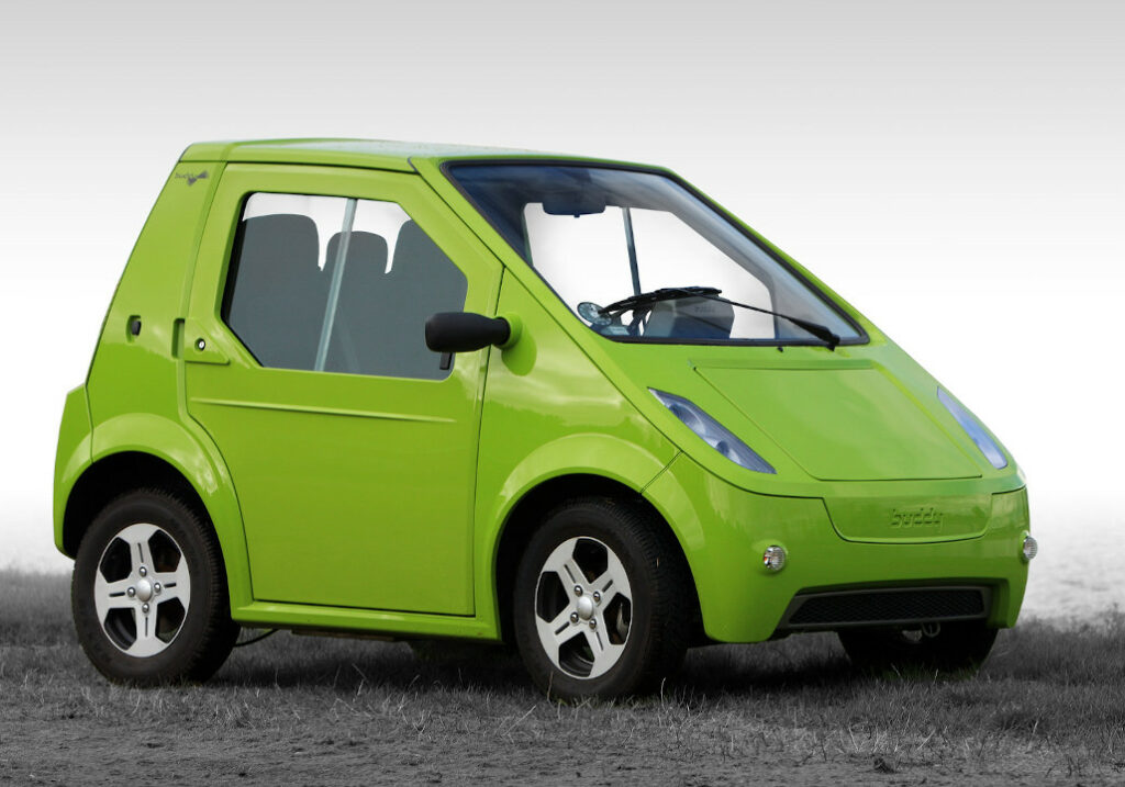 The ElBil Norge Buddy Cab - one of the smallest car (Image Source: buddyelectric)