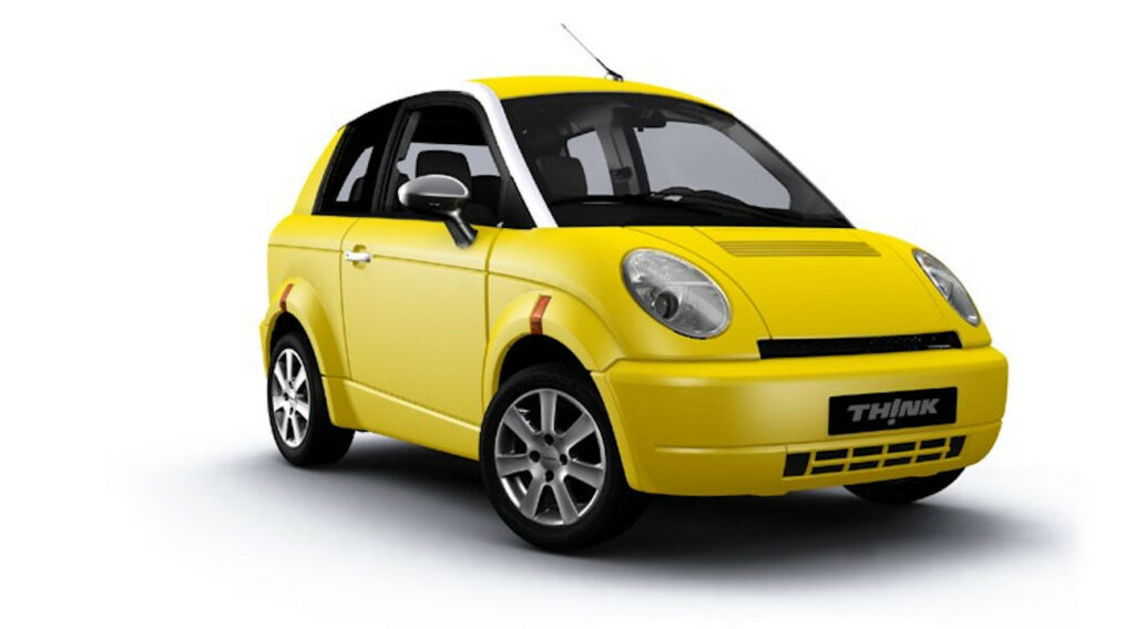 The Think City -  One of the smallest car (Image Source: carmagazine)