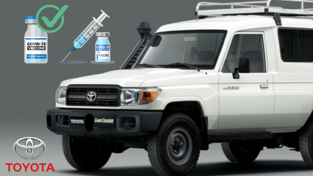 Toyota Land Cruiser vaccine transporter gets WHO prequalification