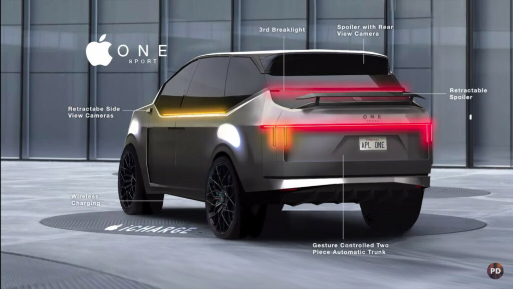 iPhone to iSUV? Let's catch the glimpse as shown by the Auto Designer.