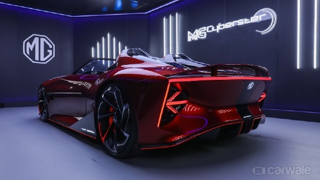 MG Cyberster Roadster - Now in pictures