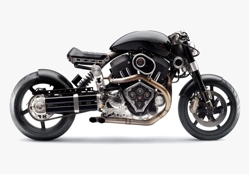 Confederate Hellcat X132 - MS Dhoni Bike
