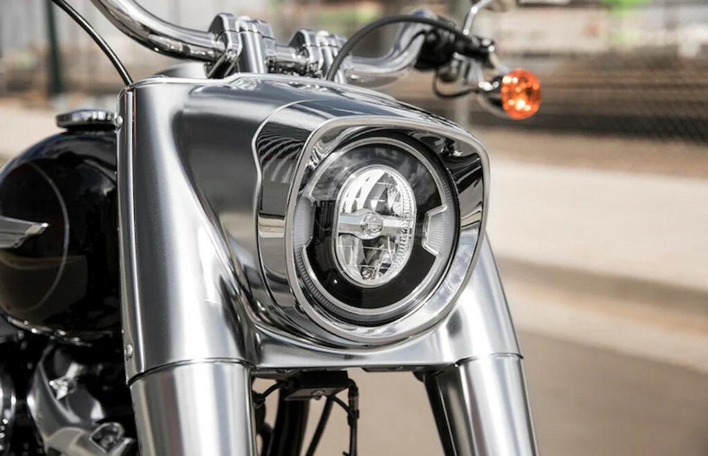 Harley Davidson Fat Boy - MS Dhoni Bike