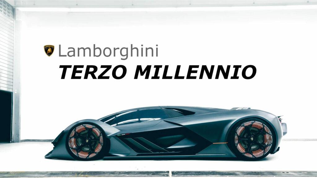 Lamborghini TERZO MILLENNIO Hybrid Concept Car and Lamborghini Upcoming Electric Car