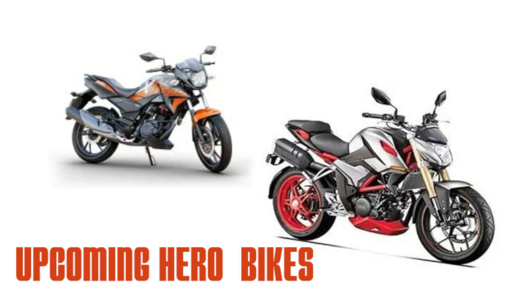 Upcoming Hero Bikes in India 2021-22