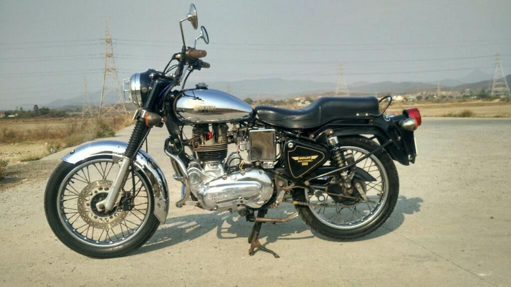 Royal Enfield Machismo  -  MS Dhoni Bike