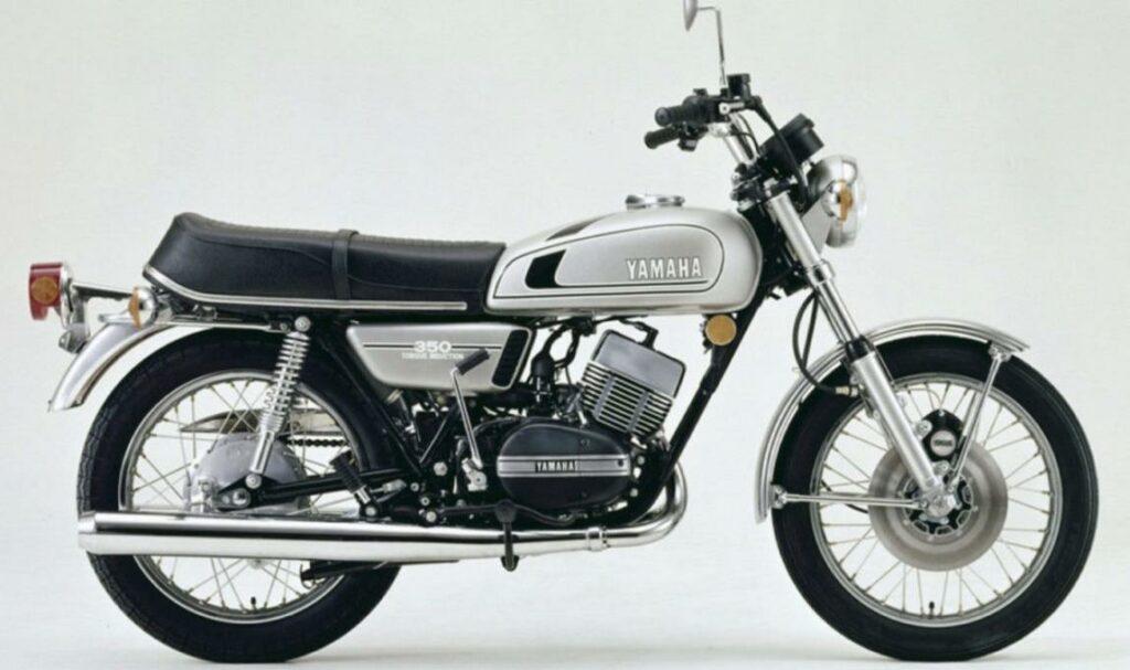 Yamaha RD350 - MS Dhoni Bike