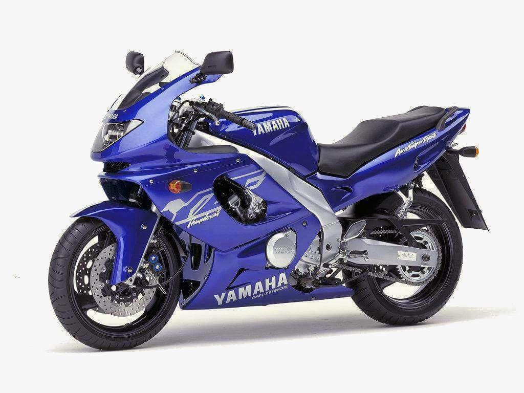 Yamaha YZF600R - MS Dhoni Bike